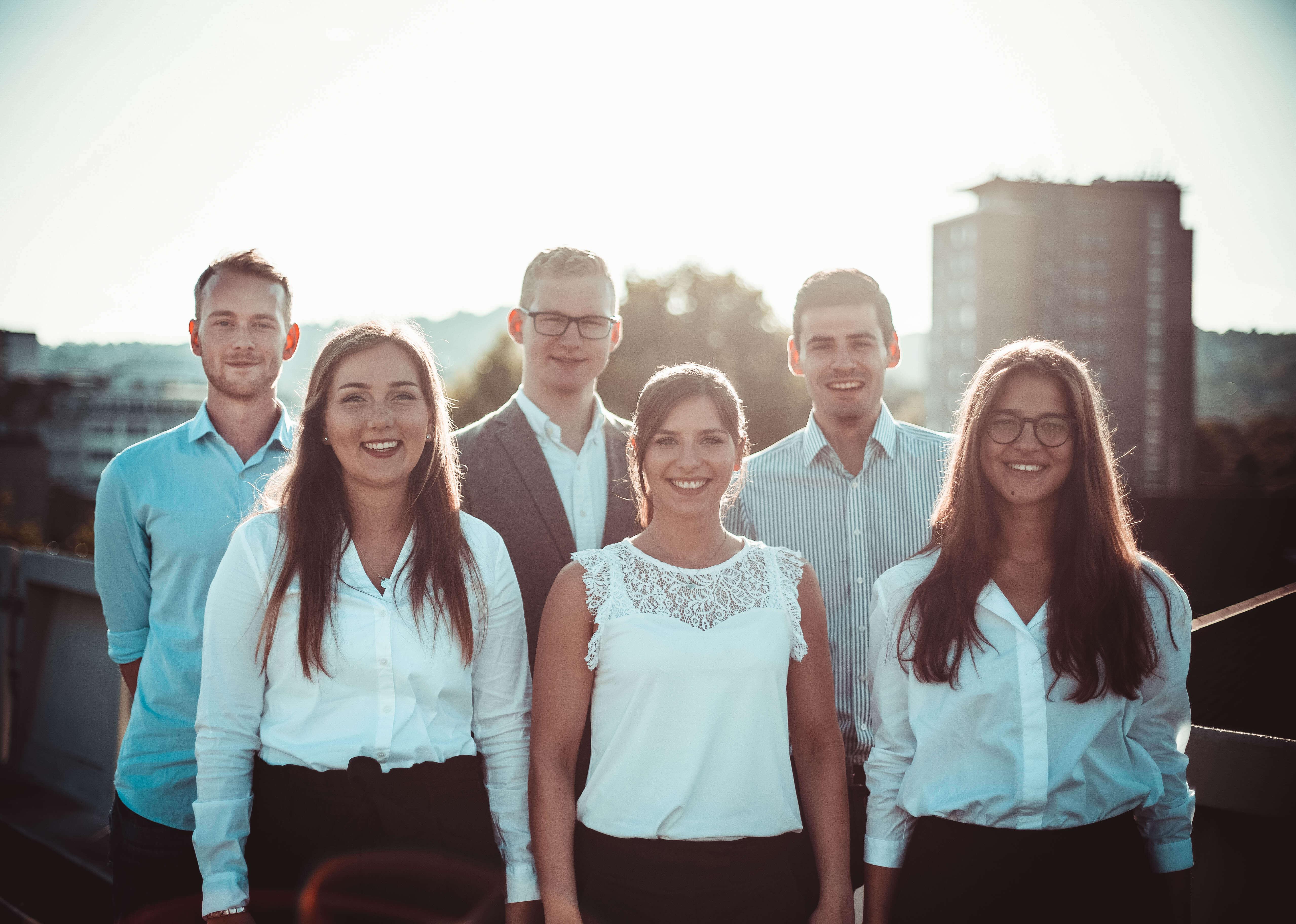 Moritz Motz, Paul Welter, Christian John, Theresa Fetzer, Nico Vetter, Jessica Schenk